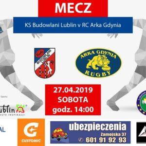 Ekstraliga: Budowlani Lublin- Arka Gdynia (27.04.2019)