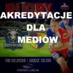 Akredytacja dla mediów na mecz  KS Budowlani Lublin vs MKS Ogniwo Sopot