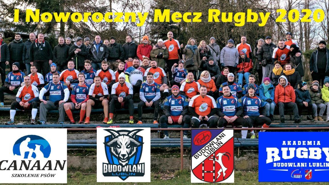 I Noworoczny Mecz Rugby -grupowe Foto- loga- przycięty