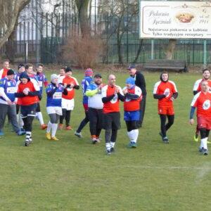 Pierwszy Noworoczny Mecz Rugby w KS Budowlani Lublin