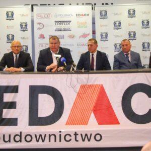 Firma EDACH sponsorem strategicznym klubu !