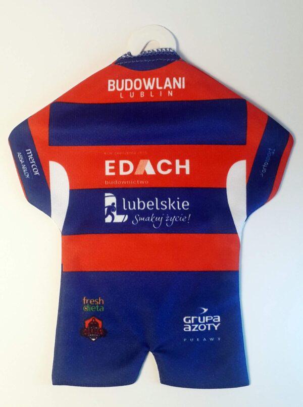 Koszulka klubowa KS Budowlani Lublin-tył