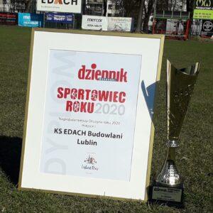Piotr Wiśniewski i drużyna Edach Budowlani na pierwszym miejscu w plebiscycie Dziennika Wchodniego